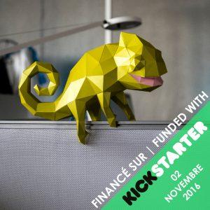 Nos kits facile sans colle sur Kickstarter