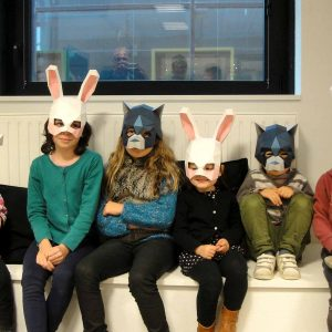 Fabrique à Rennes ! Des masques à monter