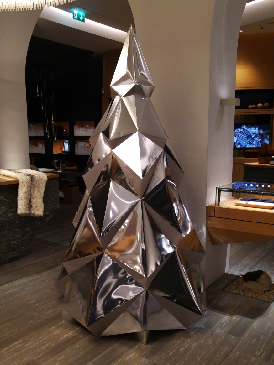 Paper Papier Sapin Christmas Tree Low Poly Audemars Piguet