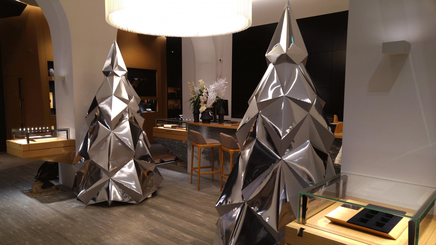 Paper Papier Sapin Christmas Tree Low Poly Audemars Piguet