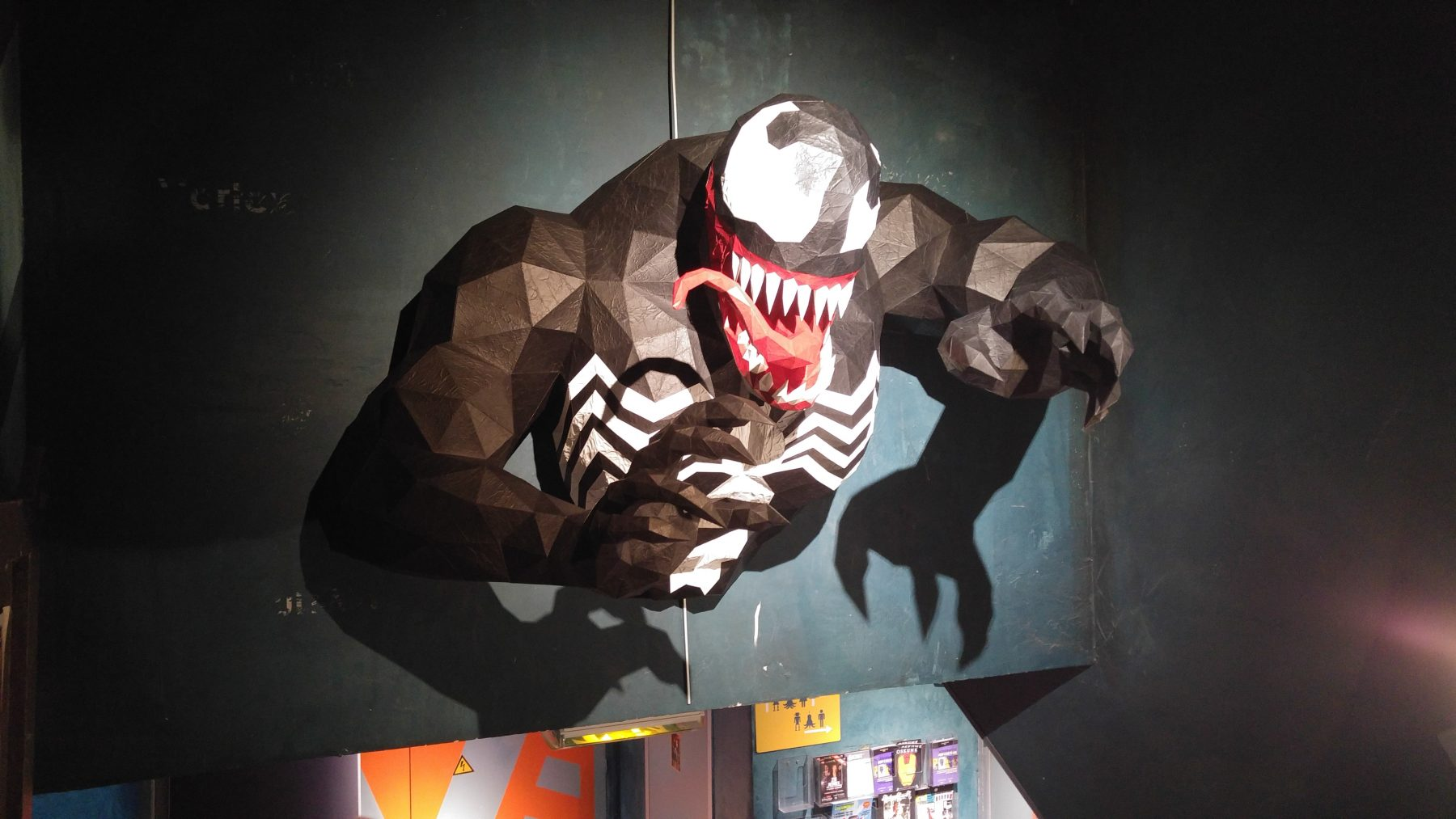 Paper Papier Venom Origami low poly