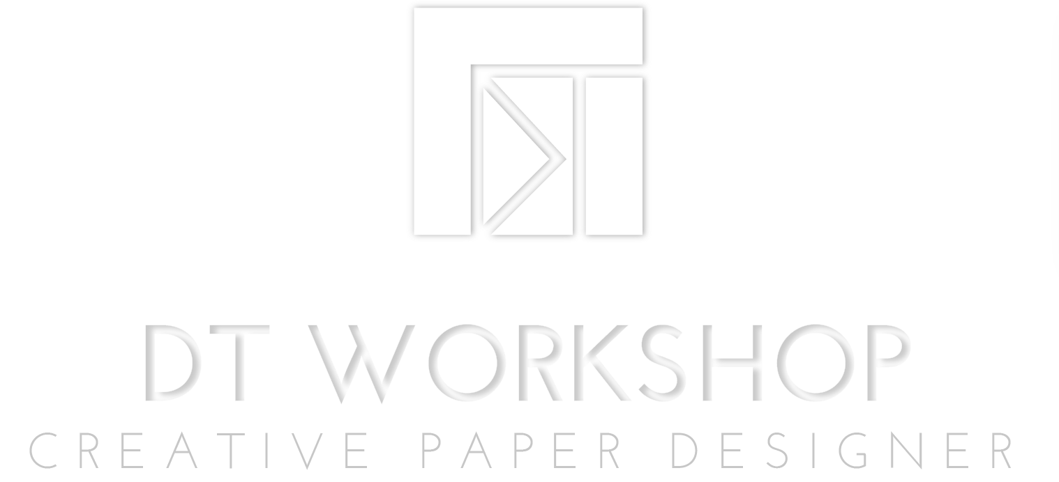 Logo DT WORKSHOP creative paper designer