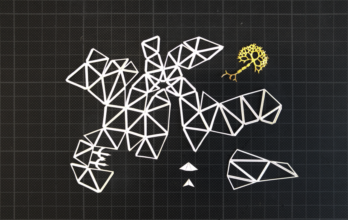 Paper Papier Oiseau Bird Origami Low Poly
