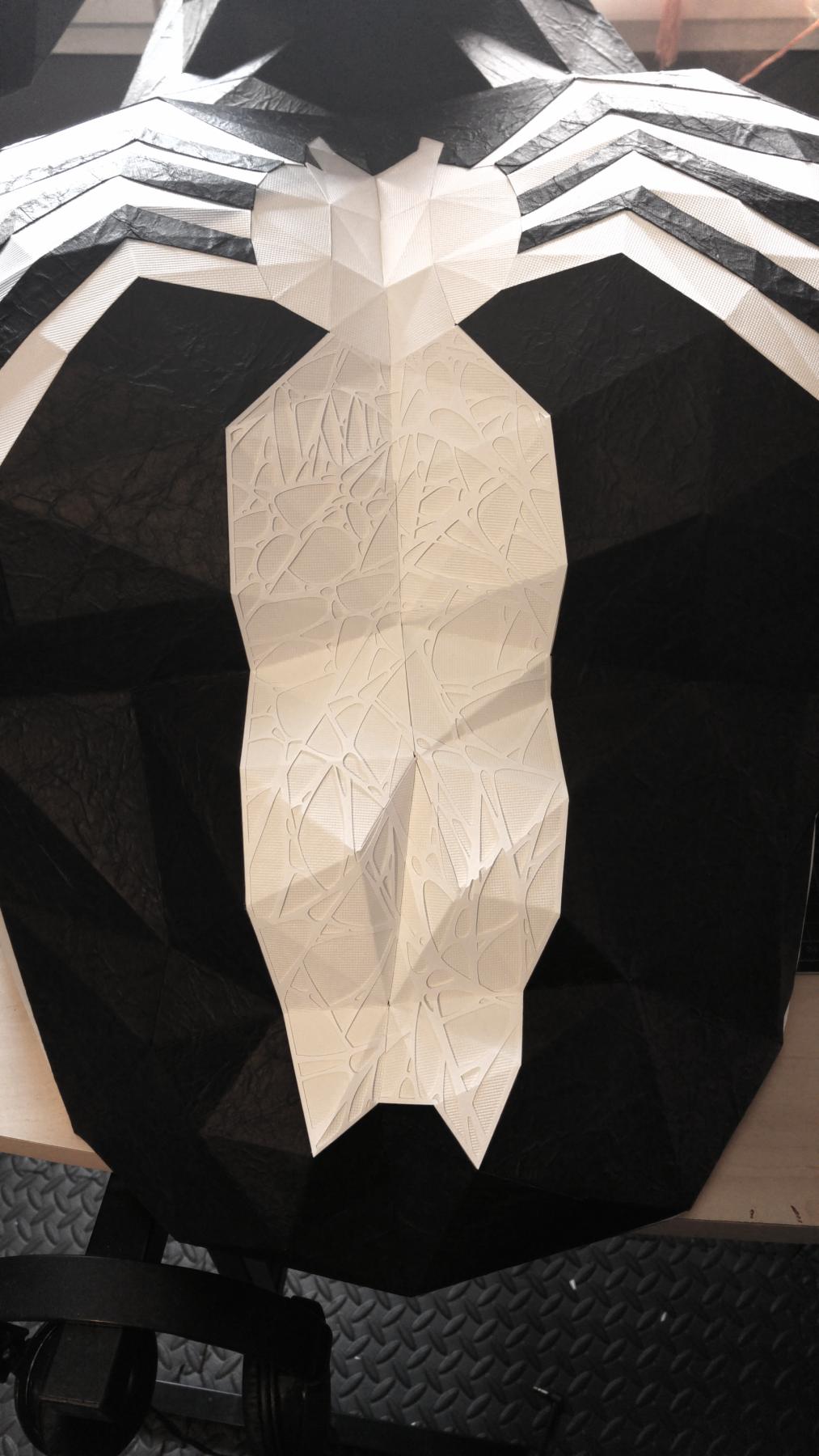 Paper Papier Venom Spider Origami low poly