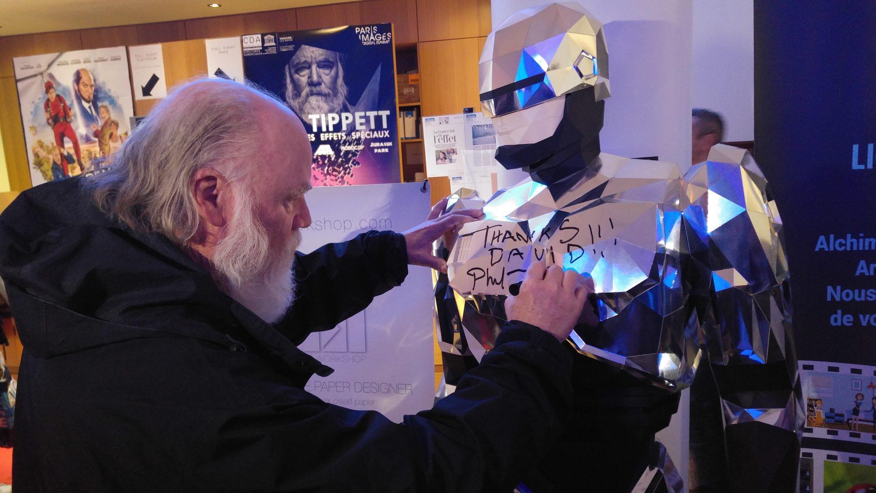 Phil Tippett Robocop Paper Papier Origami Low Poly