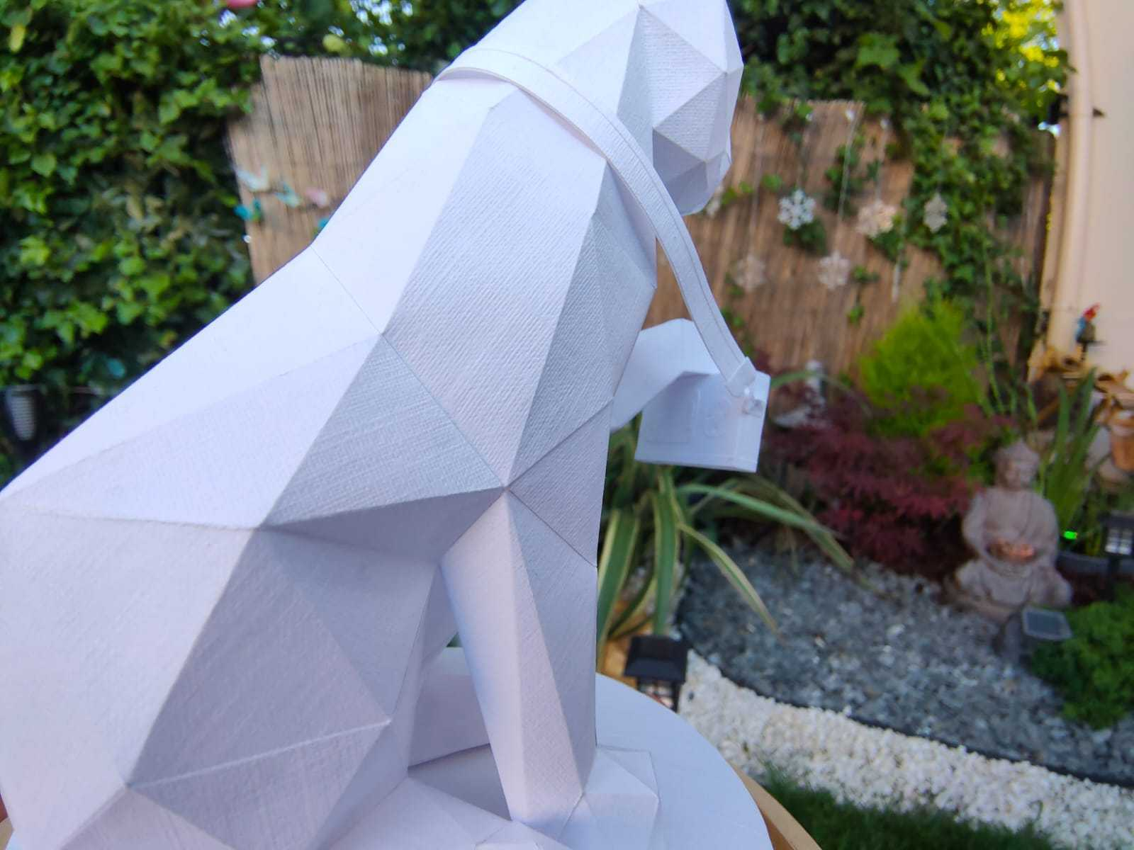 Papercraft Origami Cat Chat Paper Papier